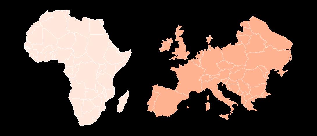 afrique-europe-map