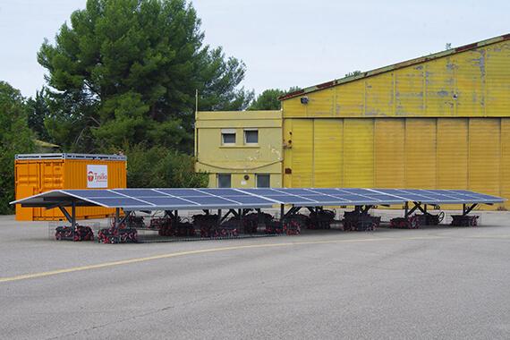 Tysilio solar station