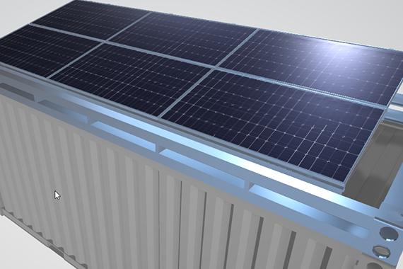 Tysilio solar roof